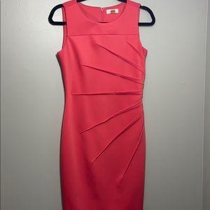 Coral Calvin Klein Dress